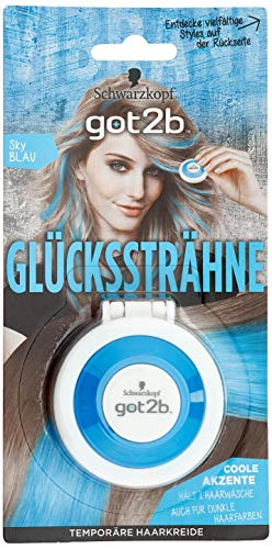 SCHWARZKOPF GOT2B Glückssträhne Sky Blau, 1er Pack (1 x 3,5 g)