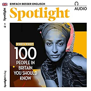 Spotlight Audio - 100 people in Britain you should know. 4/2018 Titelbild