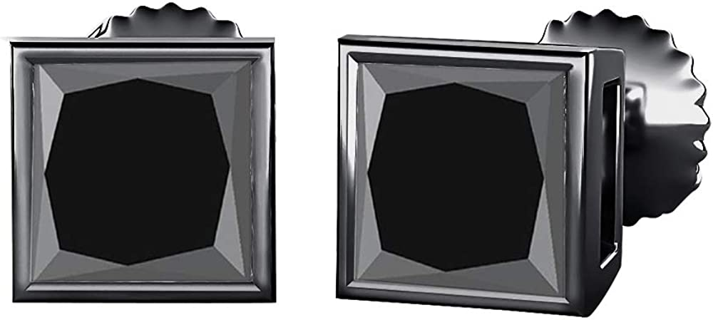 SVC-JEWELS Bezel Set 2021 autumn and winter new Princess Store Cut 9MM Solita Gemstones Created