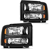 LBRST Headlight Assembly For Ford for F-250...