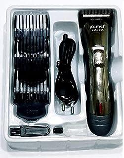 ماكينة حلاقة وتدريج الشعر واللحية متعددة الالوان من كيمي تعمل بالشحن