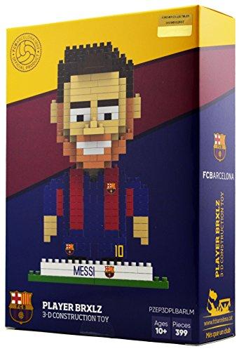 BRXLZ Juguete de construcción 3D del FC Barcelona - Messi