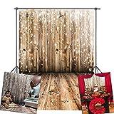 Daniu Photo Backdrops Wooden Floor for Studio Photography Backdrops Vinyl 5x7FT 150cm X 210cm Daniu-JP039