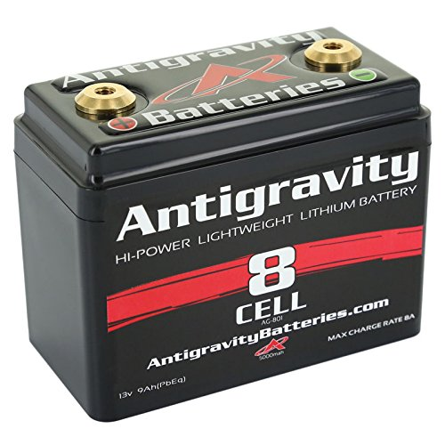 Antigravity Batteries AG-801 Black One Size Lithium Ion battery