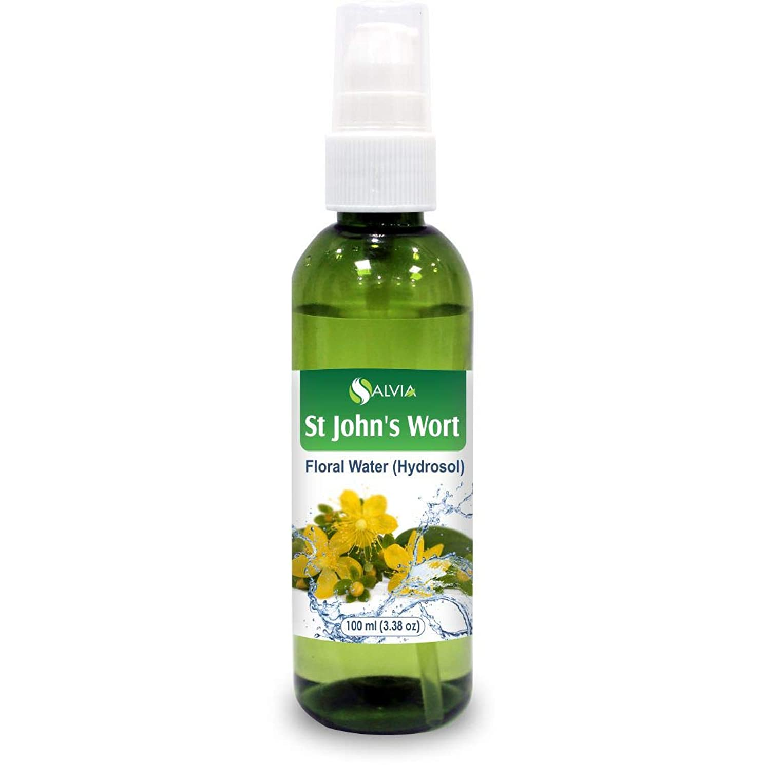 流す徴収早熟St John's Wort Floral Water 100ml (Hydrosol) 100% Pure And Natural
