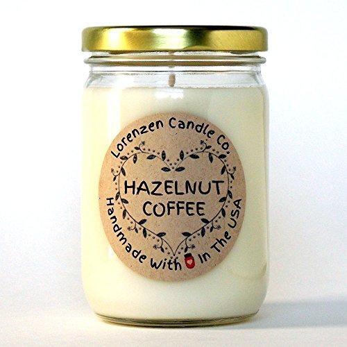 Hazelnut Coffee Soy Candle, 12oz