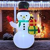 Top 10 Outdoor Snowmans