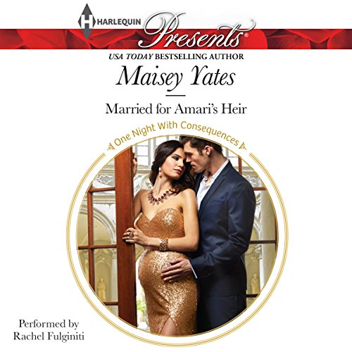 Married for Amari's Heir audiobook cover art