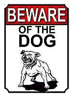 犬の用心ブリキ看板ヴィンテージ錫のサイン警告注意サインートポスター安全標識警告装飾金属安全サイン面白いの個性情報サイン金属板鉄の絵表示パネル