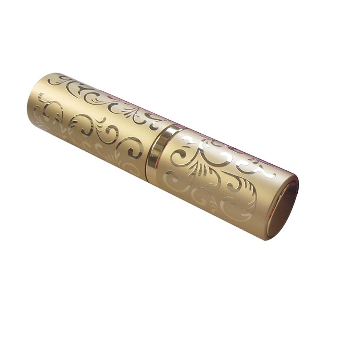 軌道あなたのもの牛10MLおしゃれトーテム香水瓶 メアトマイザー 卓仕朗 香水 化粧水 詰め替え用ボトル 噴霧器 ボトルメタル 旅行用 男女兼用 (ゴールド)