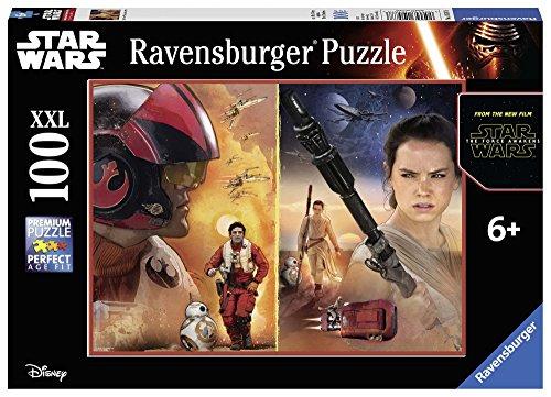 STAR WARS - Puzzle Episodio VII, 100 Piezas (Ravensburger 10587 8)