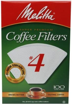 Melitta #4 White Coffee Filters 100.0 of Detroit Mall ea 2 Pack sale