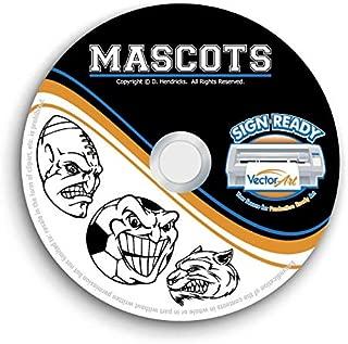 Sports Mascots Clipart-Vector Clip Art-Vinyl Cutter Plotter Images-T-Shirt Graphics CD