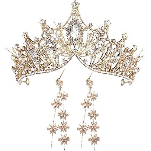 Corona di nozze per la sposa strass principessa tiara per le donne promenade regina corona pagina-nuziale corona nuziale
