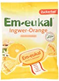 Em-eukal Ingwer-Orange zuckerfrei, 1 Pack ( 75 g) parent -