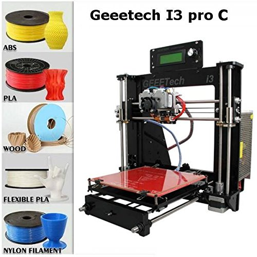 mark8shop Pièces détachées DIY Geeetech i3Pro C double extrudeuse Kit pour imprimante 3D Filament Support 5