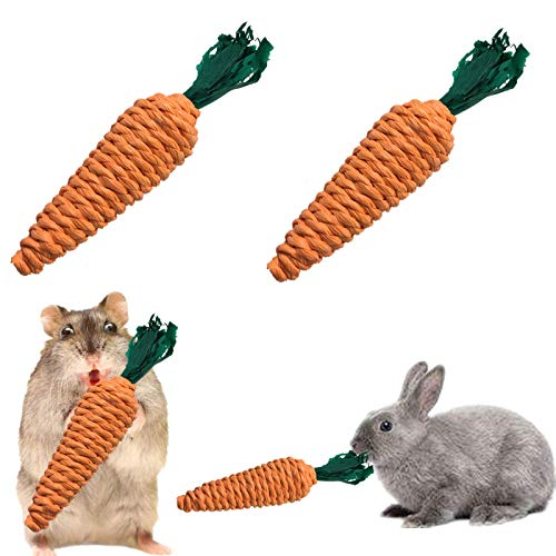 KeFit Co. Ltd Rabbit Chew Toys,Bunny Toys,Small Animals Toys for Guinea Pigs, Rabbits, Chinchilla, Hamsters
