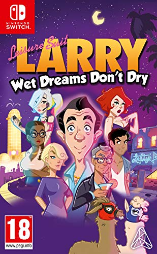 Koch Media Leisure Suit Larry - Wet Dreams Don't Dry, Nintendo Switch vídeo - Juego (Nintendo Switch, Nintendo Switch, Aventura, M (Maduro))