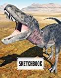 """Sketchbook For Kids: Blank White Pages for Painting, Drawing, Writing, Sketching and Doodling, Size 8.5"""" x 11"""" 
