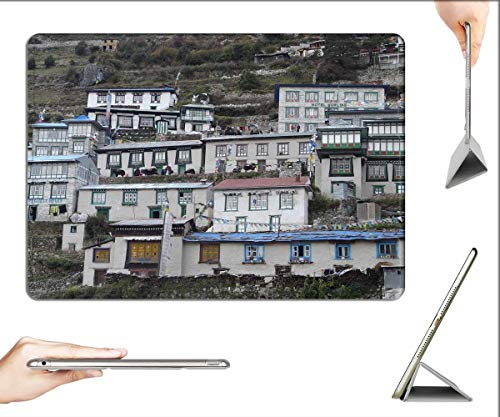 Case for iPad Pro 12.9 inch 2020 & 2018 - Namche Bazaar Sherpa Everest Khumbu Houses A Hotel