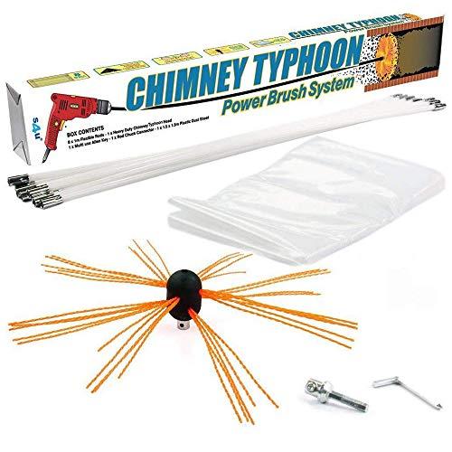 Chimney Typhoon Power Sweeping Set S4U® (10 Metre)