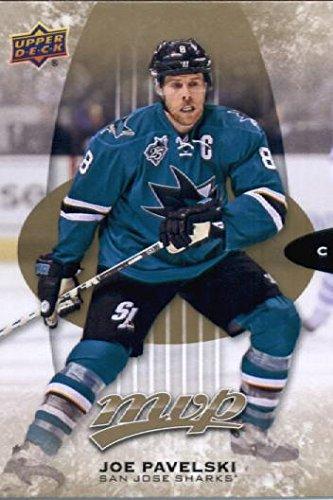 2016 Upper Deck MVP #185 Joe Pavelski San Jose Sharks Hockey Card-MINT