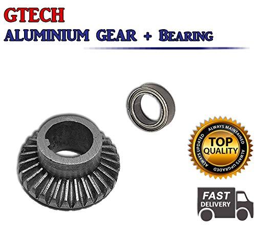 322 Gtech AirRam Aluminium-Kugellager und -Zahnrad, für Staubsauger-Spindelwelle
