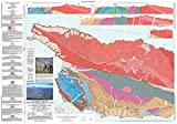 Historic Pictoric Map : Geologic map of Western Santa Cruz Island, Santa Barbara, California, 2001 Cartography Wall Art : 24in x 16in