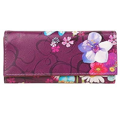 ShopMantra Vector Nature Art Multicolored Canvas Women's Wallet (LW00000154)