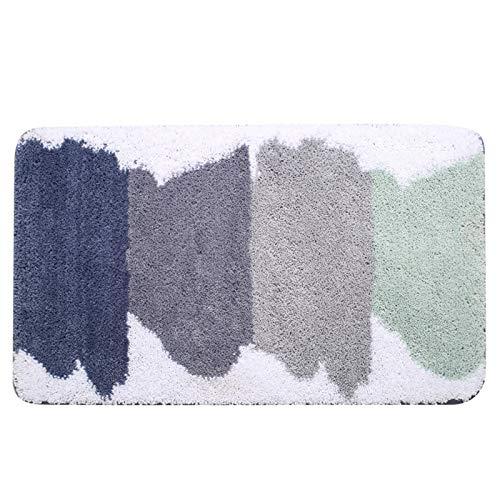 Alfombra de baño antideslizante Alfombra de baño,Tapis Salle de Bain,Alfombra en el baño Cómoda alfombrilla de baño, Alfombras de baño de dormitorio de gran tamaño ( Color : AA , Size : 50*80cm )