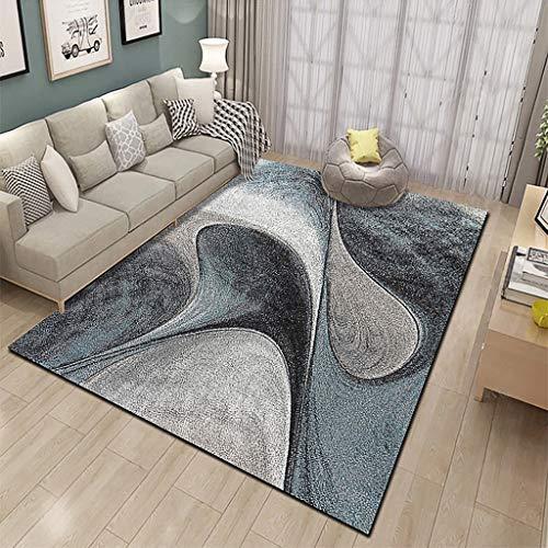 XYGB Alfombra para sala de estar, diseño 3D, no destiñe, antideslizante, sin formaldehído, lavable a máquina, dormitorio comedor, alfombra suave para sala de estar, alfombra para niños A-200 x 300 cm