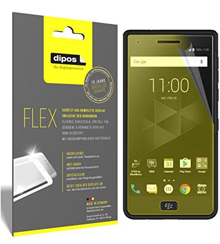 dipos I 3X Schutzfolie 100prozent kompatibel mit BlackBerry Motion Folie (Vollständige Bildschirmabdeckung) Bildschirmschutzfolie