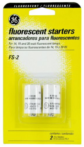 General Electric 80619 Ballast 2 Piece Fluorescent Starters