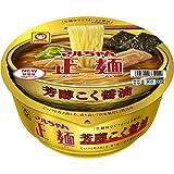 マルちゃん マルちゃん正麺 カップ 芳醇こく醤油 119g ×12個