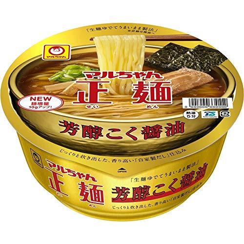 7位:東洋水産『マルちゃん正麺カップ芳醇こく醤油』
