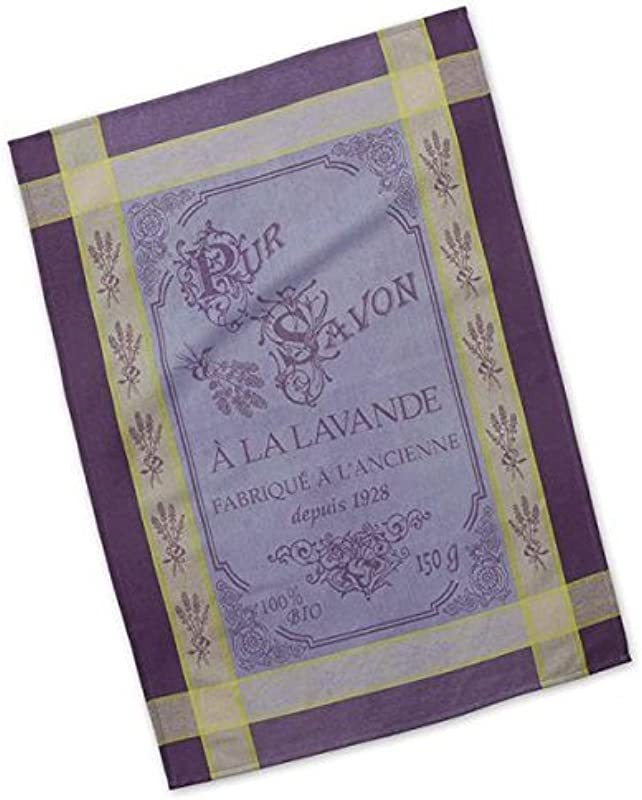 Dish Towel Pur Savon A La Lavande French Inspired Design Jacquard Towel