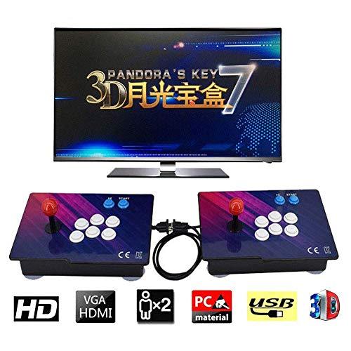 ZQYR GAME# Console de Jeux vidéo Arcade, 2350 en 1 Console de Jeux vidéo 1080 HD Retro avec HDMI/VGA USB Console Double Arcade (Model: BZ-2200)
