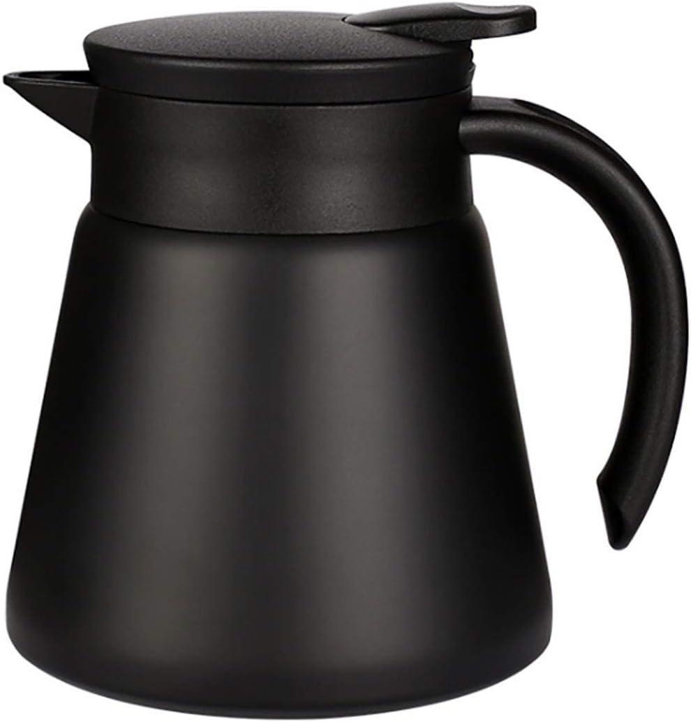 Goeielewe Thermal Coffee Carafe Financial sales sale 40% OFF Cheap Sale Tea Pot Stainless Oz In 20 Steel