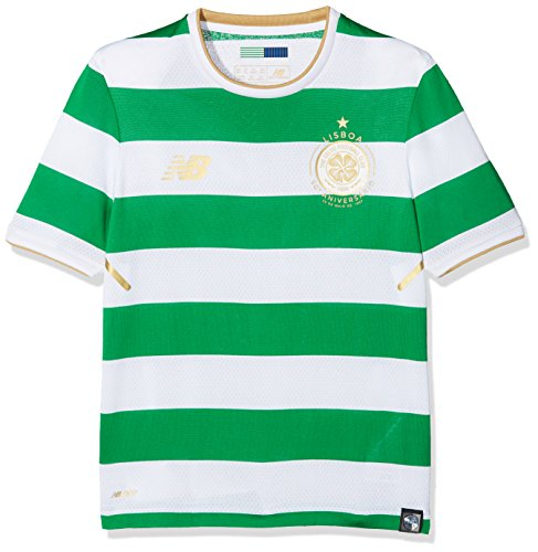New Balance Celtic FC Home Junior SS Jersey [White] (M)