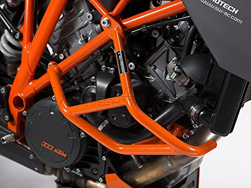 SW-MOTECH Sturzbügel, Orange für KTM 1290 Super Duke R / GT