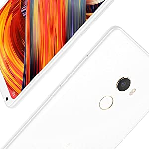 "Xiaomi Mi Mix 2 Special Edition - Smartphone 5.99"" (4G, Snapdragon 835 Octa Core, memoria interna de 128 GB ampliable con microSD, RAM de 8 GB, cámara dual de 12 MP, Android One) Blanco"