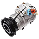 ECCPP AC Compressor with Clutch Replacement for CO 10624GLC 1986-2001 T-oyota Camry Celica Solara