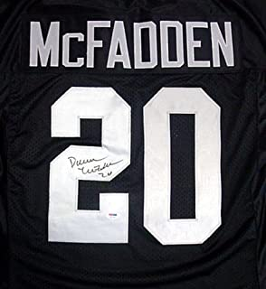 Oakland Raiders Darren McFadden Signed Black Jersey - PSA/DNA Certified
