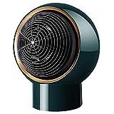 Palm kloset . Home Calentador Peque?o Calentador de Escritorio Calentador Mini portátil de Oficina Dormitorio Calentador rápido Dios (Color:Blanco) (Color : Green, Size : OneSize)