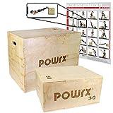 POWRX Plyobox Holz Jumpbox Sprungkasten