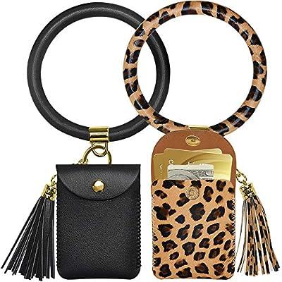 Keychain Bracelet,2 Pack Key Ring Bracelet and ...