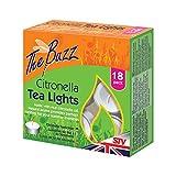 Dicoal stv423 - velas citronela (pack 18) tea lights