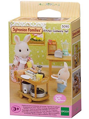 Sylvanian Families- Animales Set utensil...