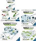 Ravensburger GraviTrax 6er Set 27590 27594 27611 27612 27613 27614 Starter-Set + Gauß-Kanone + Lift...