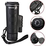 Quanto Mobile Lens 40x60 HD Monocular Telescope with Universal Clip for Camping, Hiking